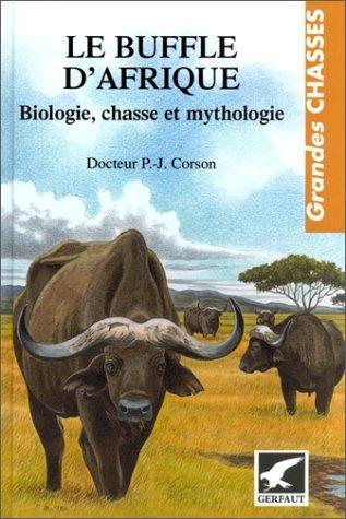 livre le buffle d'afrique docteur corson