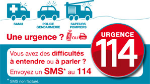 urgence 114 sourd muet sms
