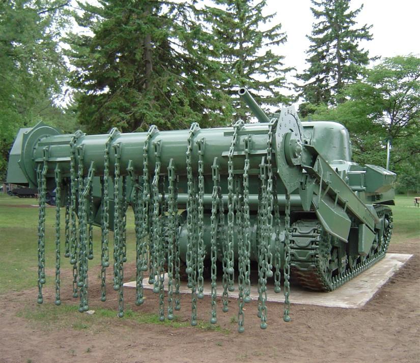 char de déminage 1944