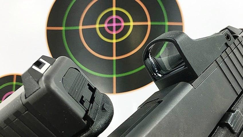 optique vs guidon hausse classique pistolet