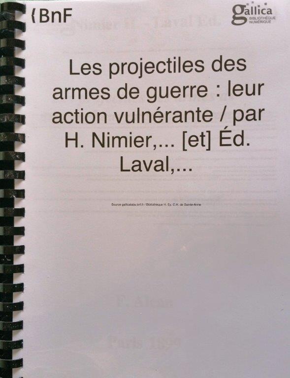livre bnf projectiles des armes de guerre