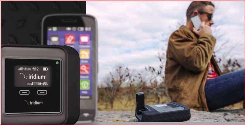 iridium + smartphone
